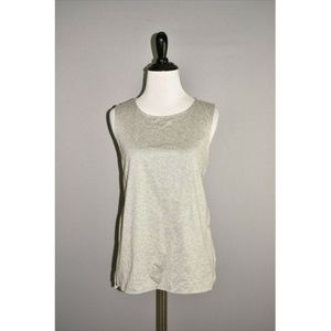 J.CREW Contrast Terry Tank Top